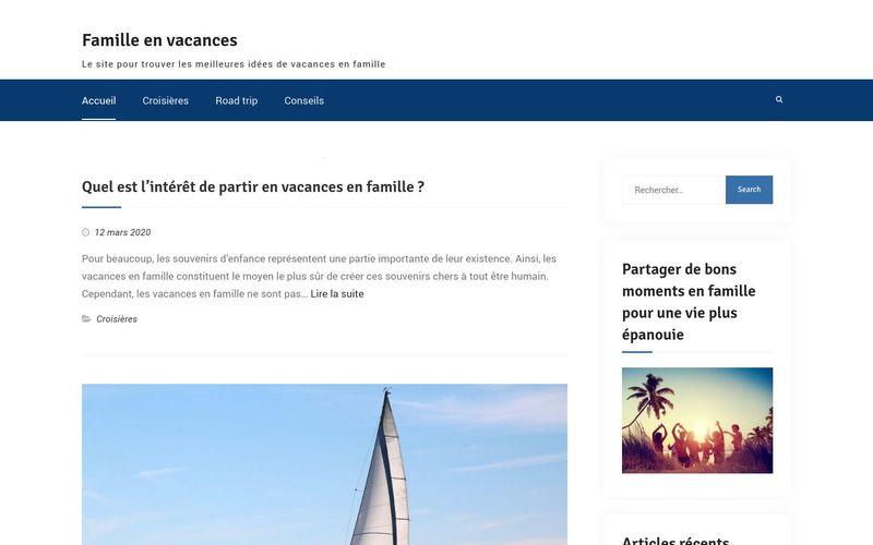 Famille en vacances - Le site pour trouver les meilleures idées de vacances en famille